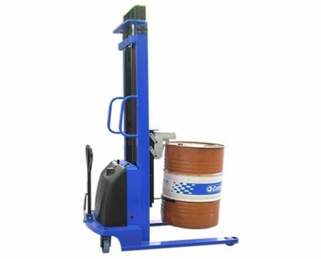 电动圆桶装卸车